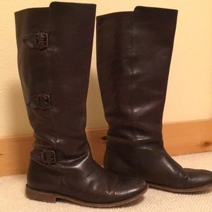 Frye knee-high riding boots